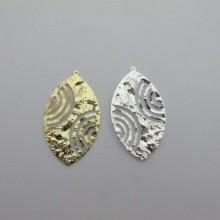 10 pententif ovales 49x28mm