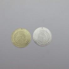 10 pcs pendentif ronde 30mm