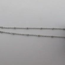10MTS Chaîne 2mm en Acier inox