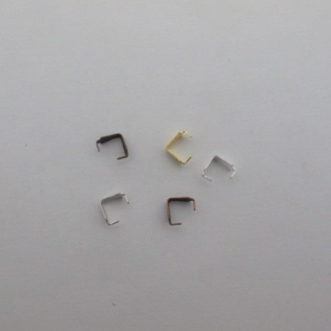 500 PCS Attache pendentif 6mm