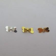 50 pcs Bow tie connectors 22x10mm