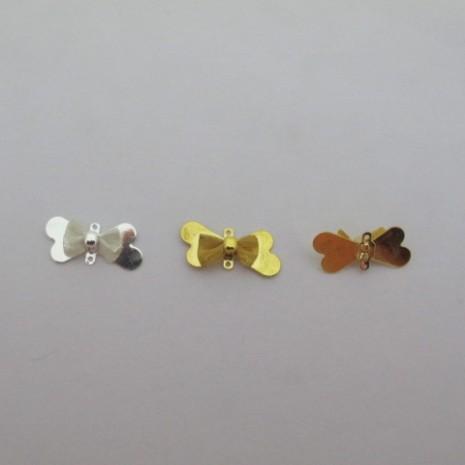 50 pcs connecteurs noeud papillon 22x10mm