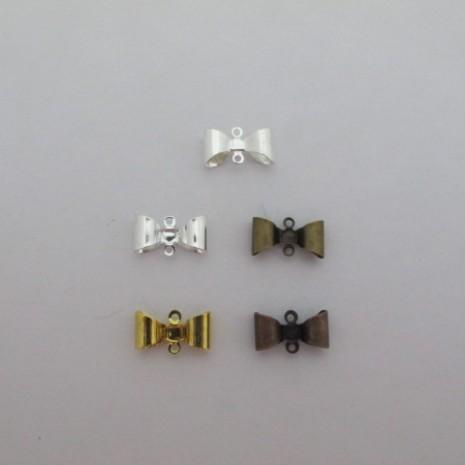 50 pcs connecteurs noeud papillon15x8mm