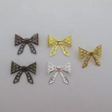 50 pcs bow tie connectors 22x19mm