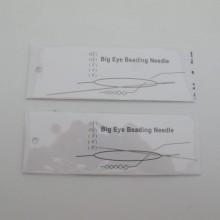 1 pcs Aiguille à perler 8cm/10cm
