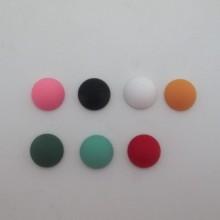 20 pcs cabochons en plastique  mat 20mm
