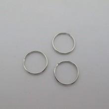 50 Porte Clé anneau 20 mm