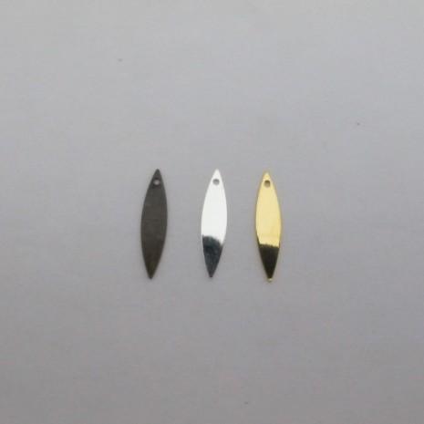 50 pcs Sequin navette 22x5mm