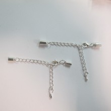 50 Chain clasp for gluing cord