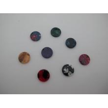 20 pcs Round acetate pendant 15mm