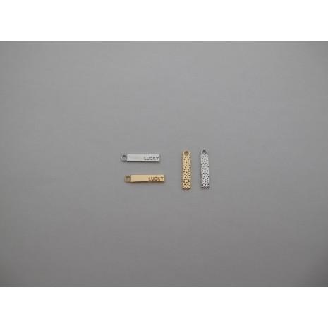 30 pcs pendentif 20x5mm