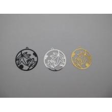 Filigree stamps 32x30mm - 30 pcs