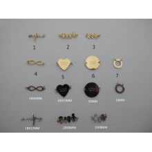 Stainless steel spacers 10 pcs