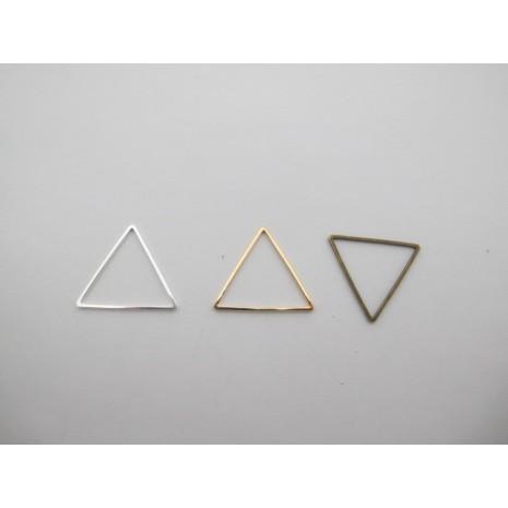 25 pcs intercalaires triangle 22mm laiton burt