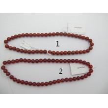Carnelian et red jasper ronde 40cm