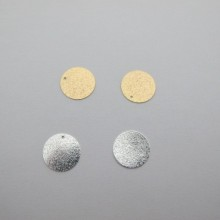 ROUND PEARL SEQUINS 16mm - 20 pcs