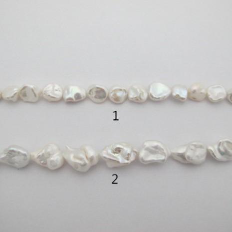 Perles d'eau douce- Fil de 40 Centimetres