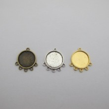 20 Support cabochon 21mm