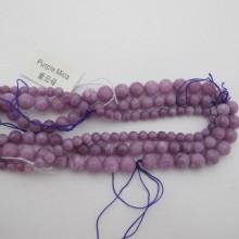 Purple mica round 40cm