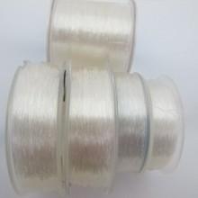 Fil de nylon élastique0.5mm/0.6mm/0.7mm/0.8mm/ 1.0mm transparent x100m