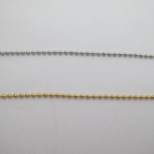 STAINLESS STEEL BALL CHAIN 2.40mm - 10m