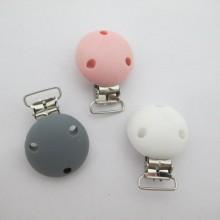 3 pcs clip silicone pour attache tetine 50x35mm