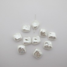 Pearly beads 15x13mm - 125g