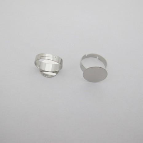 20  pieces Bague plateau 15mm/17mm