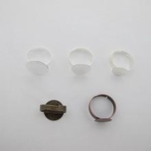 20 pieces Bague plateau 10mm/12mm/15mm/17mm