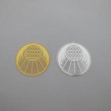 Filigree stamps 31x30mm - 20 pcs