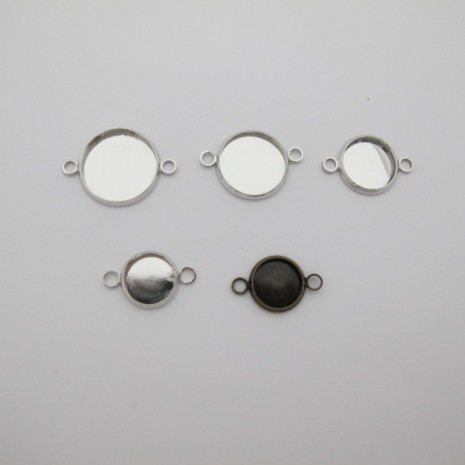 40 Support intercalaire cabochon 12MM