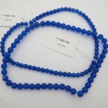 lapis jade ronde- Fil de 40 Centimetres