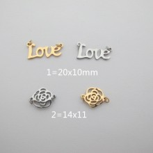 Spacers stainless steel 10 pcs
