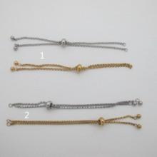 5 pcs bracelet  acier inoxydable