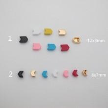 Enameled beads 10 pcs