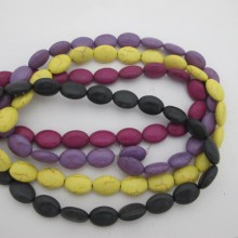 Synthetic stone 13x18mm - 40 cm