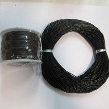 50mts Round leather cord 1mm