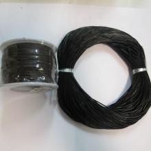 50mts Cordon de cuir rond 1mm