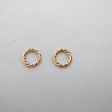 30 pcs anneaux intercalaires 10mm en métal