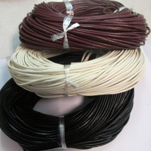 50mts Round leather cord 2.5mm