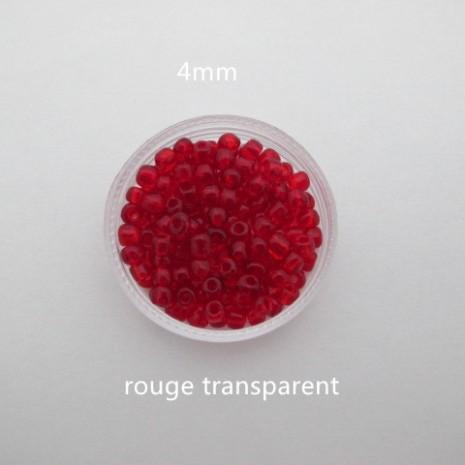450 grs rocaille en verre 4mm