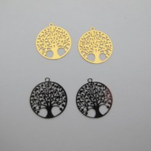 50 Estampe Arbre de vie laser cut 20mm
