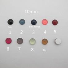 Flat Glass Cabochon 10mm - 30 pcs