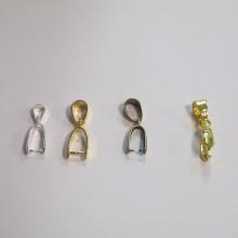 100 Attaches pendentifs 17mm