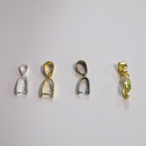 50 Attaches pendentifs 19mm