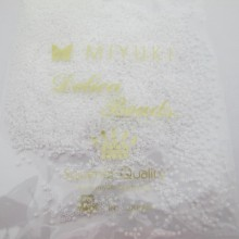 50 GRS MIYUKI DELICA 11/0 DB0200 opaque white