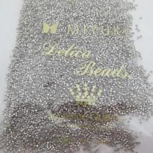 MIYUKI DELICA PALLADIUM PLATED 11/0 DB0038 - 50g