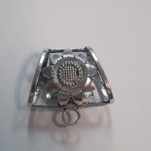 10 Pendant clip for scarf 40x37mm