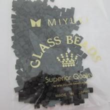 TL0401F MIYUKI TILA MATTE BLACK 5x5x1.9mm - 50g