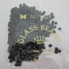 TL0401 MIYUKI TILA Black 5x5x1.9mm - 50g